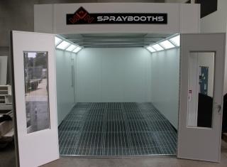 above ground spraybooth