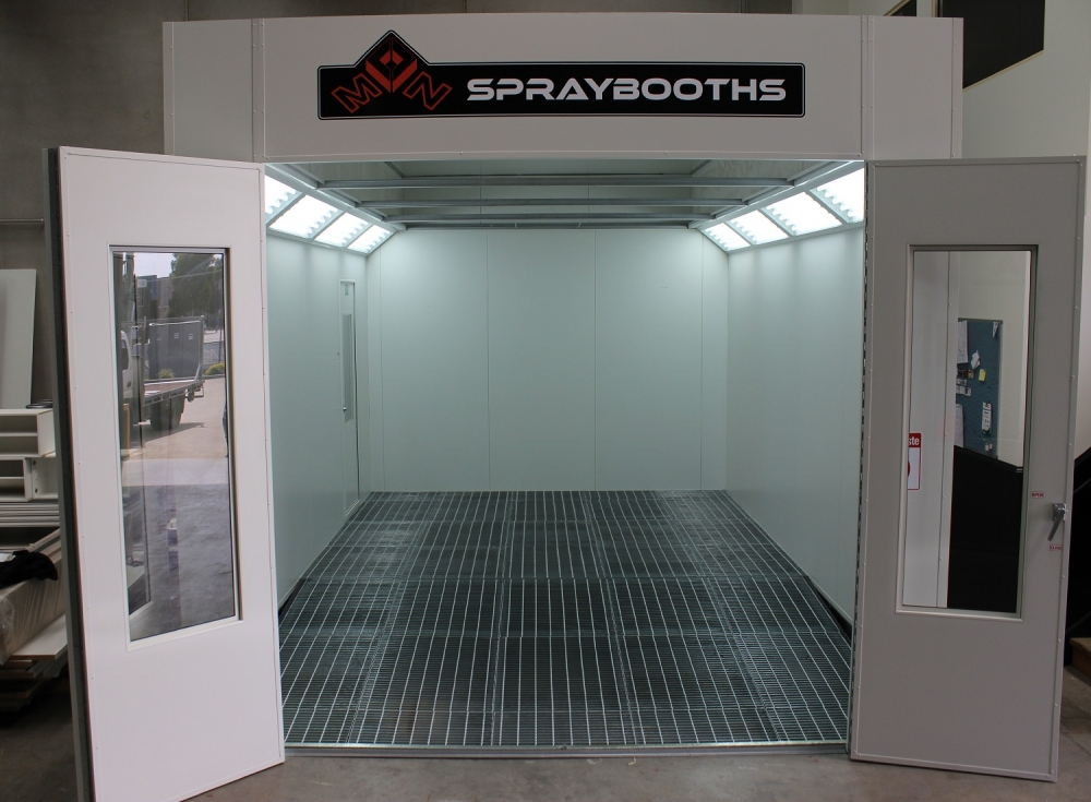 above ground spraybooth
