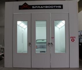 mn one above ground spraybooth