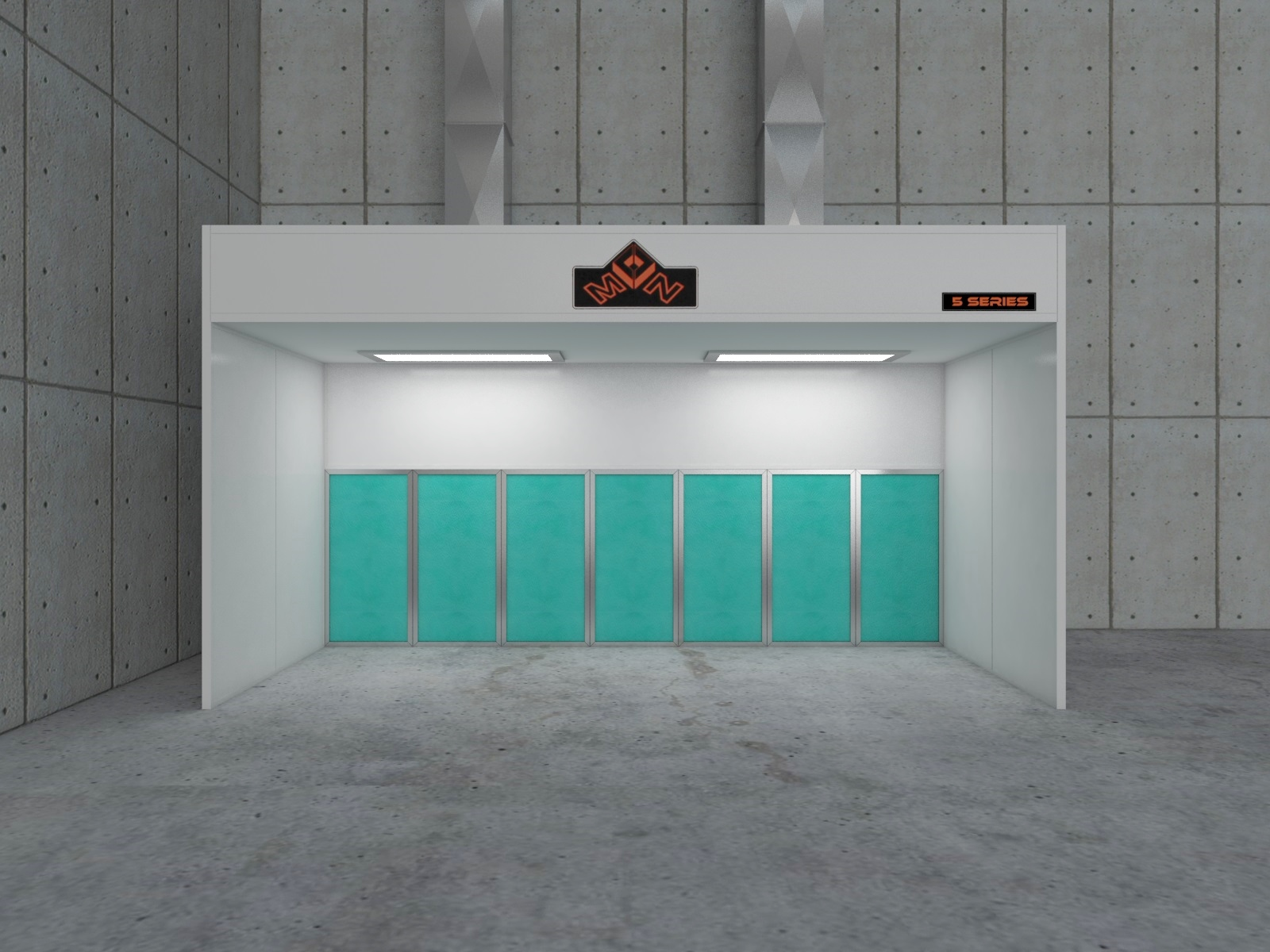 Industrial Painting Booths : Industrial spray paint booths in australia make an
