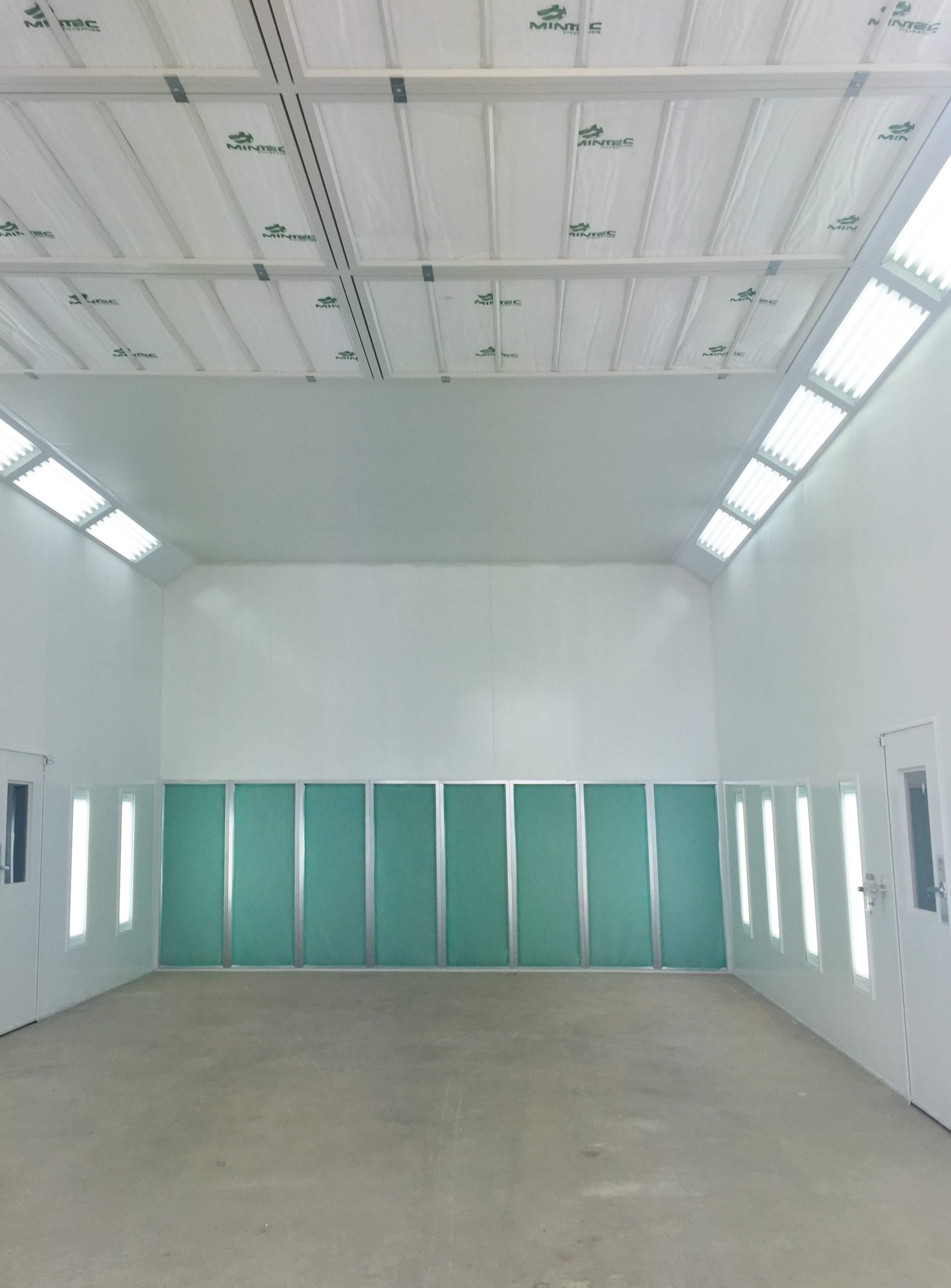 Australian Made Truck Amp Large Spray Paint Booths Contact
