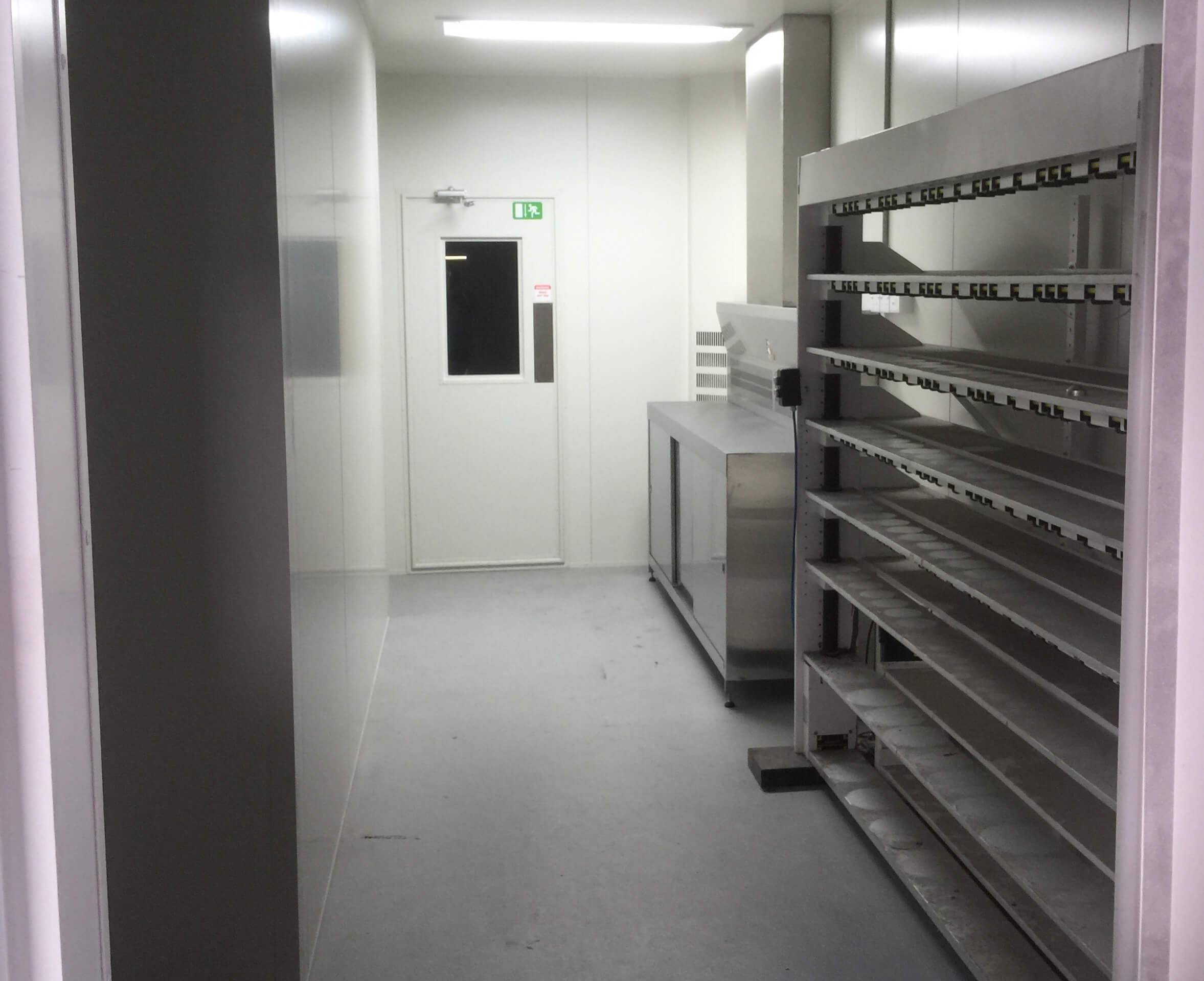 Rooms: Paint Mix & Storage